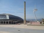 オリンピックスタジアムを背に見る.JPG